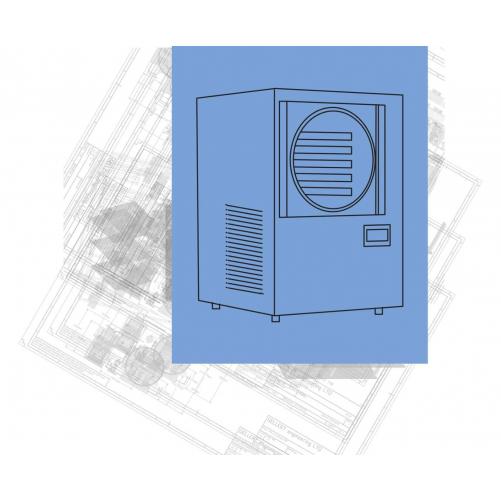 LABORATORIJSKI/HORECA LIOFILIZATOR (FREEZE DRYER) GELLERT CRYODRYER 10