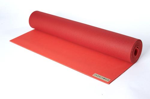 PODLOGA ZA YOGO JADEYOGA HARMONY PROFESIONAL - SEDONA RED 188cm, 4,5mm