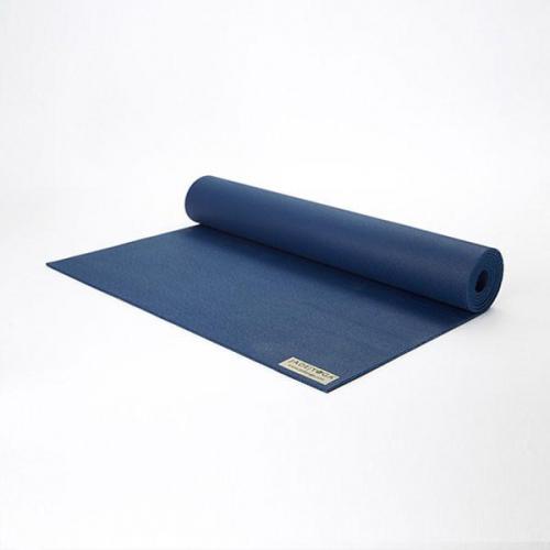 PODLOGA ZA YOGO JADEYOGA HARMONY PROFESIONAL - MIDNIGHT BLUE 173cm, 4,5mm