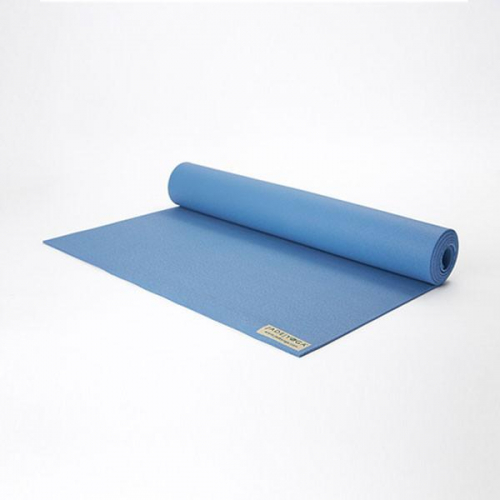 PODLOGA ZA YOGO JADEYOGA HARMONY PROFESIONAL - SLATE BLUE 188cm, 4,5mm