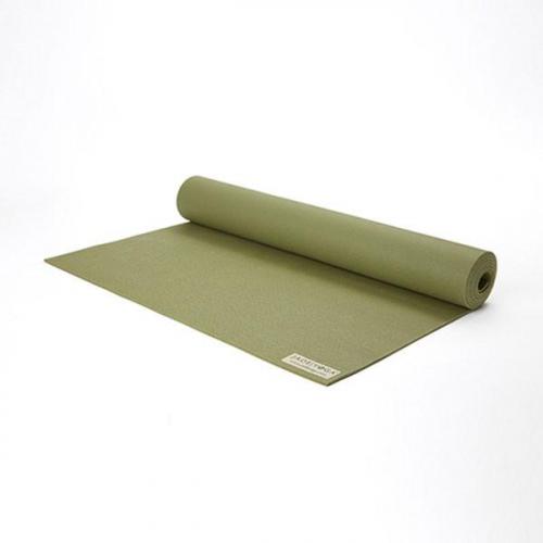 PODLOGA ZA YOGO JADEYOGA HARMONY PROFESIONAL - OLIVNO ZELENA 173cm, 4,5mm