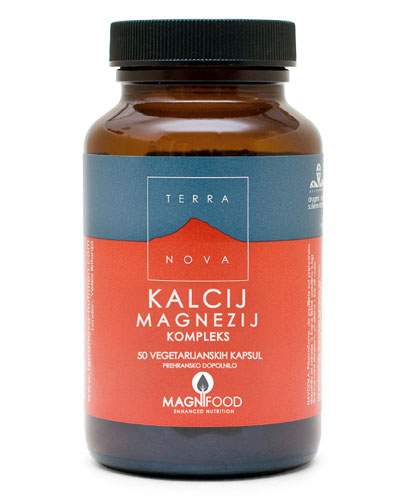 TERRA NOVA - KALCIJ MAGNEZIJ KOMPLEKS, 500 mg / 250 mg